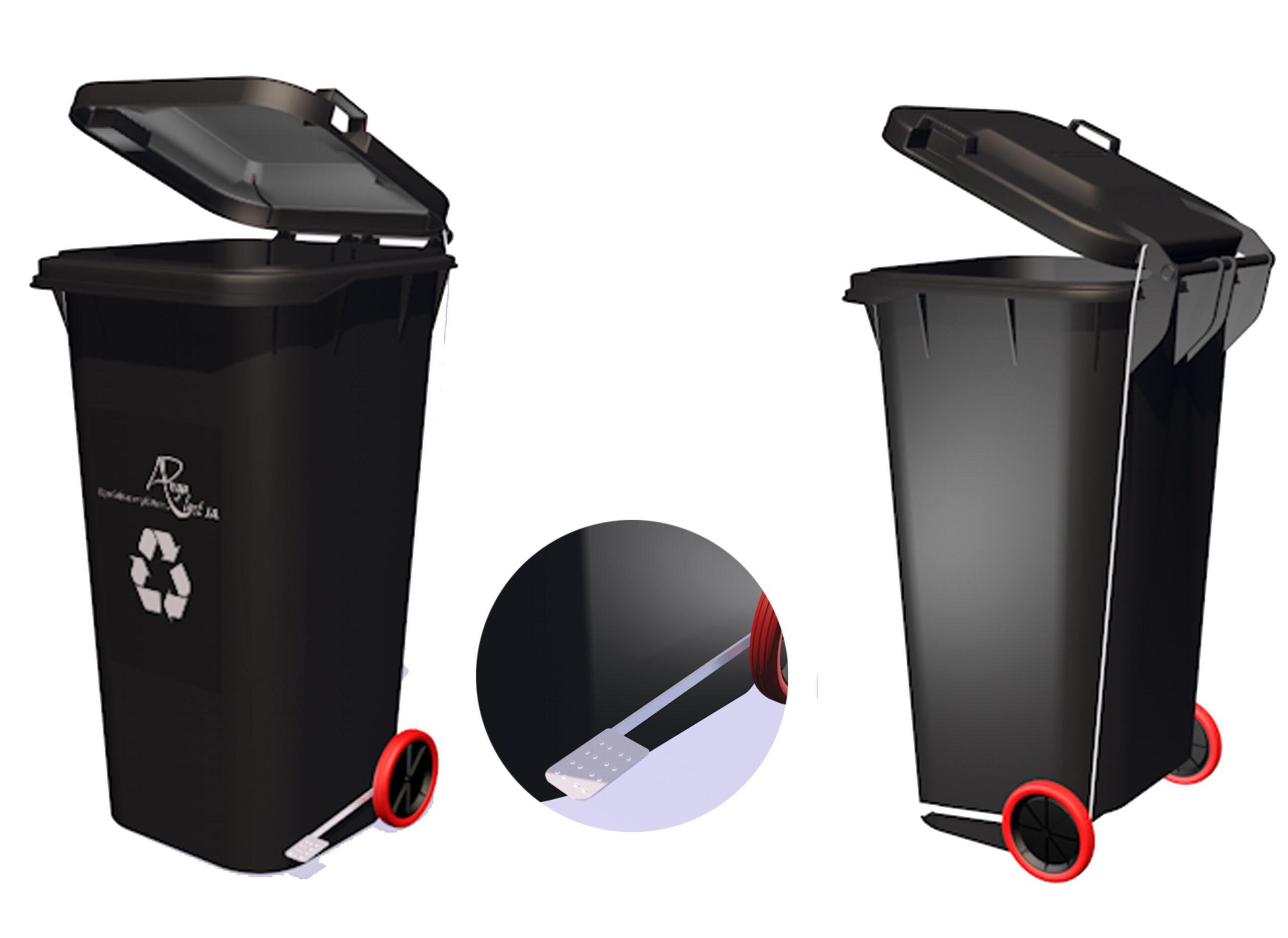 Tacho reciclador de 120 litros